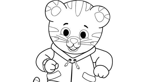 Daniel Tiger coloring page Daniel