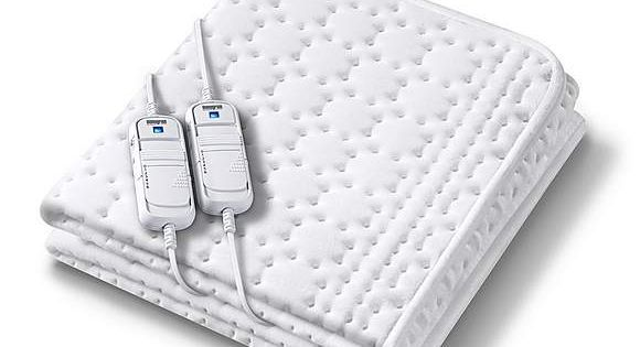 Monogram By Beurer Anti Allergy Dual Control Electric Blanket In 2020 Electric Blankets Heated Blanket Mattress Covers