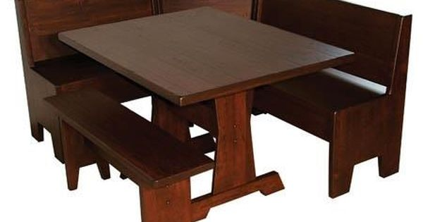 Casual Dining Heritage Nook Set By Wayside Custom Furniture With
