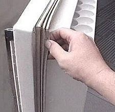 How To Fix A Refrigerator Door Seal Hunker Refrigerator Repair Clean Refrigerator Door Clean Refrigerator