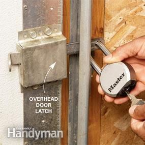 Home Theft Protection Secure Your Garage Diy Home Security Home Safety Home Protection