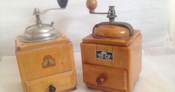 BG Bean Grinding FREE SHIPPING Manual Retro Wooden Coffee Grinder tool Pepper Grinding Machine