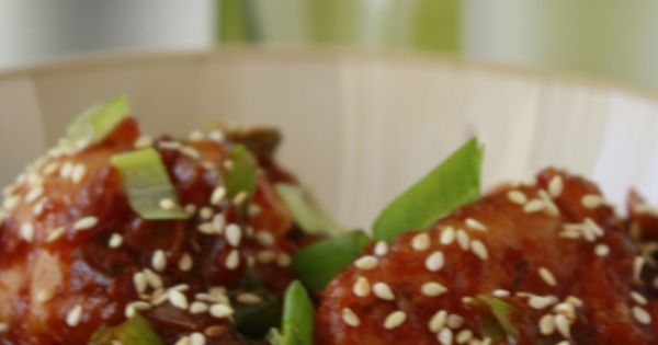 Cauliflower Manchurian with BBQ Sauce