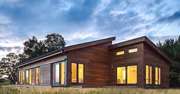 Balance casa prefabricada ecol gica de blu homes fotos - Casa ecologica prefabricada ...