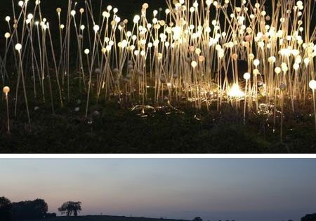 balloons and glowsticks...make your own fairy lights.