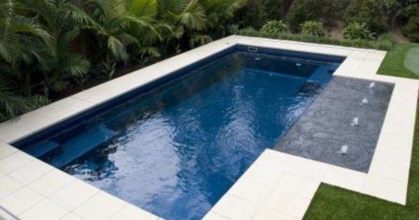Madeira By Narellan Pools: Madeira - Blue Azurite Narellan Pools New Zealand