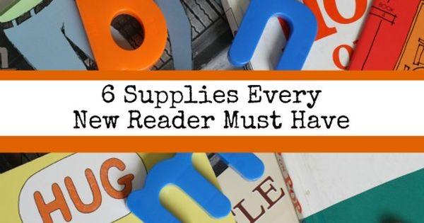6 Supplies Every New Reader Must Have - types of books and