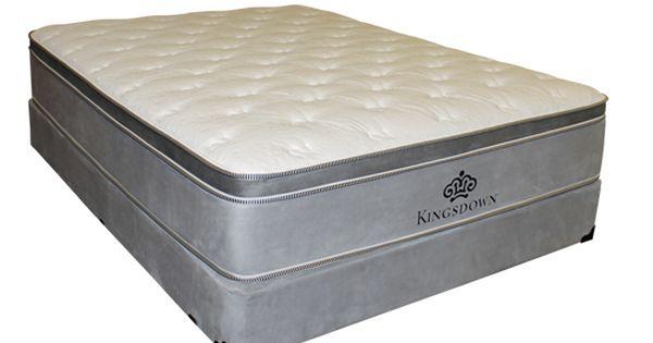Kingsdown Silver Eurotop Mattress Box Springs Euro Top Mattress Firm Mattress