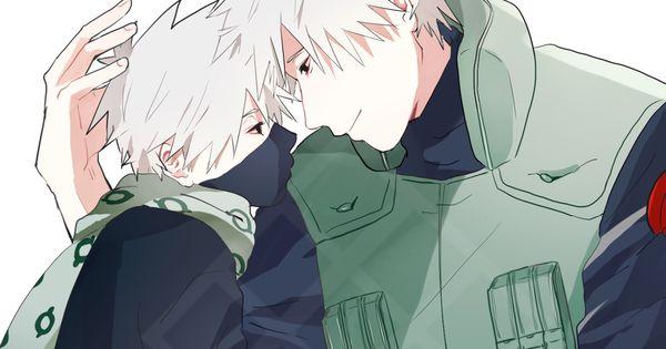 しゃけ(焼)多忙により低浮上 on   Kakashi, Naruto and Father