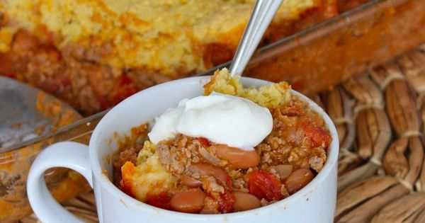 Chili cornbread casserole, Cornbread and Cornbread casserole on ...