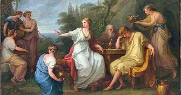 athena and telemachus Analysis of athena in the odyssey english literature essay print reference  if it not for athena, telemachus might have taken his father for dead and encouraged.
