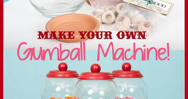 diy tutorial make your own bubble gum machine kara 39 s party ideas the place for all things. Black Bedroom Furniture Sets. Home Design Ideas