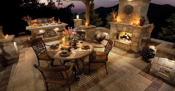 I Would Love To Have A Patio Like This Especially With The