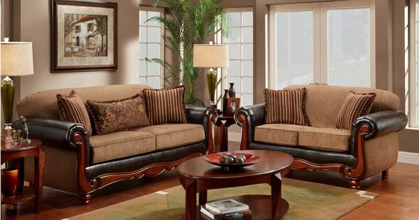 Living room furniture with wood trim design ideas with natural wood