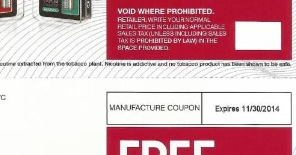 Vuse coupons