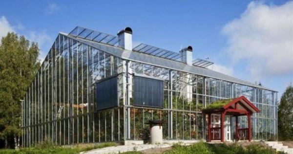 Eine Wohnung Im Gewachshaus Norr Skandinavien Magazin Natur Haus Umweltfreundliche Hauser Gewachs