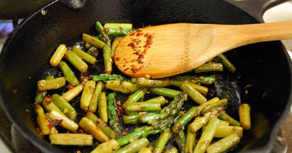 ... asparagus add garlic and sambal | Jeanne | Pinterest | Asparagus and
