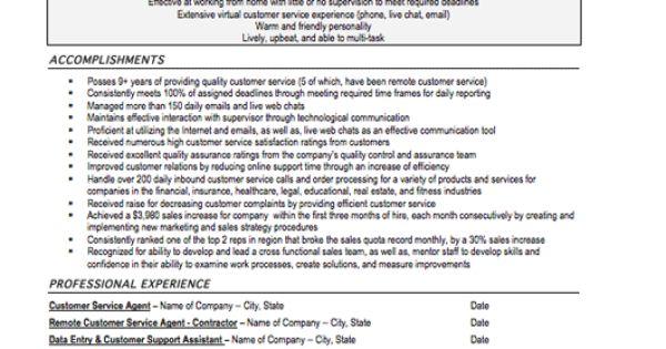 Customer Service Resume Sample, Free Resume Template, Professional - customer service accomplishments