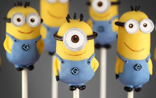 Minions for Cakes & Cupcakes: Step-by-Step Tutorial  Minion cake ...