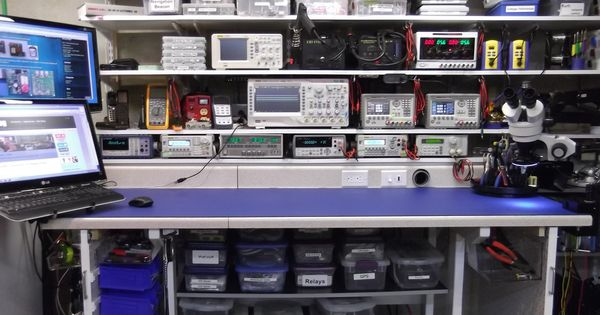 Electronics workbench layout setup google search lab for Oficina electronica de empleo