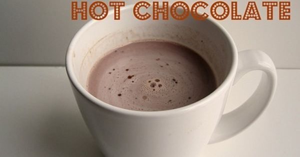 Salted Carmel Hot Chocolate With Images Salted Carmel Salted