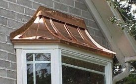 Copper Bay Roofs Exterior Metals Federal Way Tacoma Puyallup Seattle Bay Window Exterior Bay Window Window Remodel