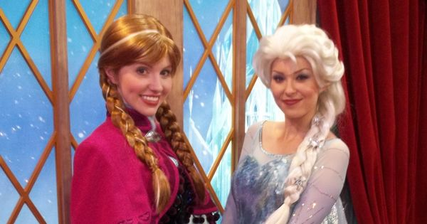 meet anna and elsa at epcot