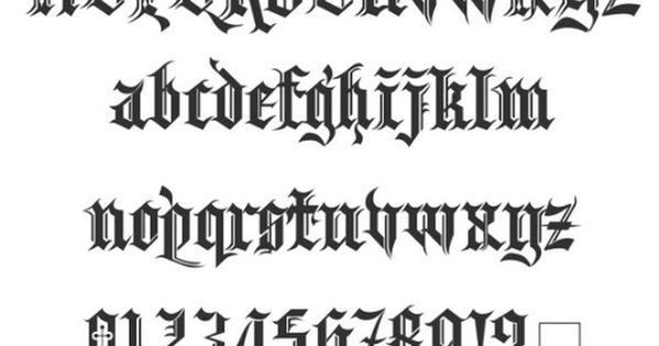 Kingthings spikeless blackletter font style designed by for Flowy tattoo fonts