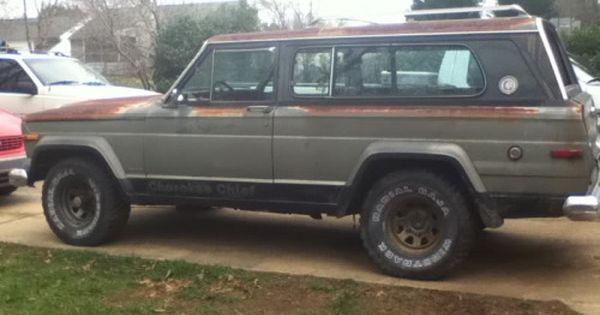 Jeep Wagoneers Via 78 Cherokee Chief Part Out Greensboro Nc
