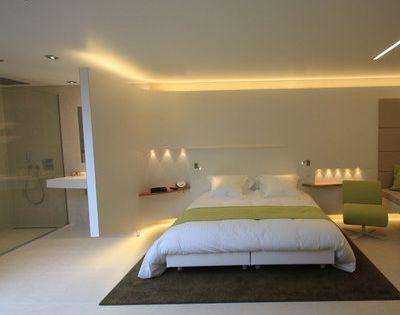 Esth tique et moderne une salle de bains en corian les for Architecte salle de bain
