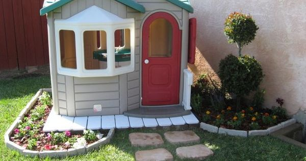 yard work for kids - give them their own little garden to