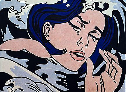 Lástima no haber podido ir a la mayor retrospectiva de Lichtenstein en