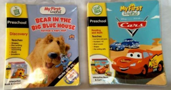 My First Leappad Cars And Bear In The Big Blue House Books And