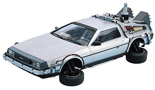 Delorean Dmc 12 Back To The Future 2 In 1 24 Model Kit Ba With