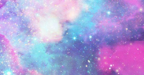 green blue purple pink galaxies - photo #42
