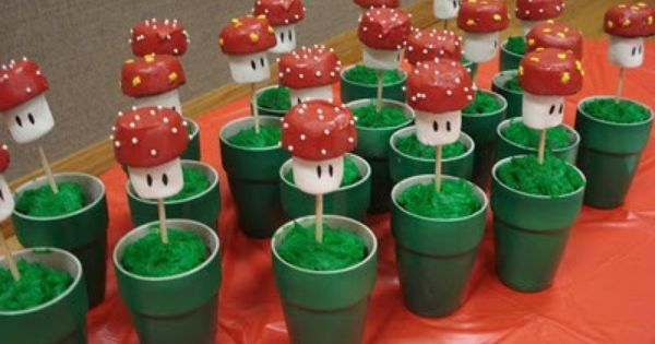 Super Mario Bros Party Ideas. Renee Steff i know he just had