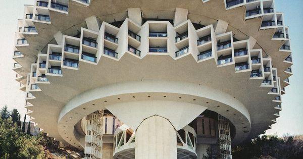 cold war soviet architecture Druzhba Holiday Center – Yalta, Ukraine