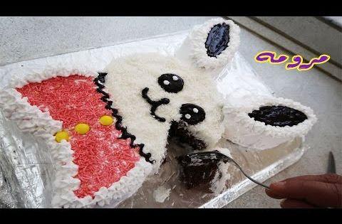 تزيين الكيك بعجينة السكر طريقة بصيطة ومناسبة للمبتدئين مطبخ العائلة العراقية ام فراس Youtube Kawaii Art Art Kawaii