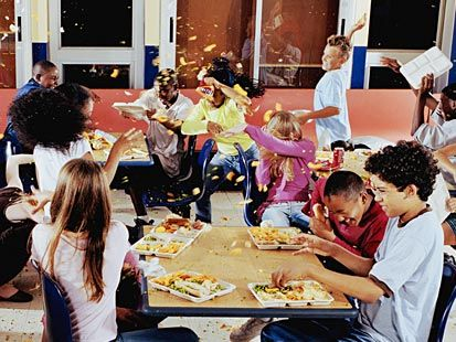 I Would Like To Be In A Huge Food Fight At School Soon
