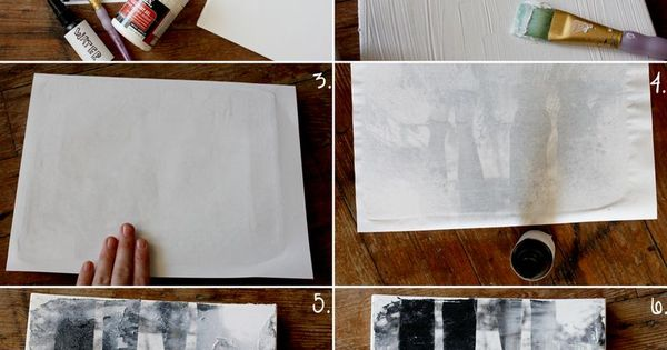 Using gel medium to transfer laser jet copies on to canvas -