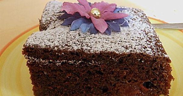 Kuchen mit buttermilch und kakao