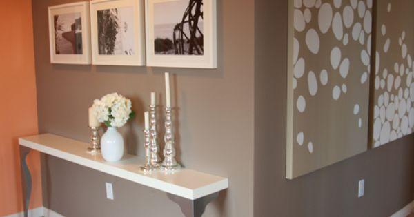 console originale avec des pieds ikea ikea pinterest flure dekoration und inspiration. Black Bedroom Furniture Sets. Home Design Ideas