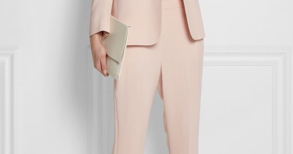 Stella mccartney mattea stretch cady blazer clutch and pants equipment top and reed krakoff - Stella mccartney head office ...