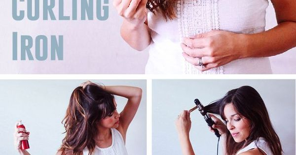 how to make waves with a curling iron