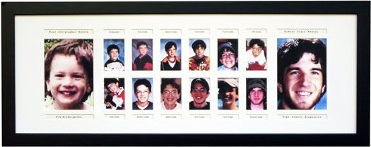 School Years Frame Including Pre K Model Exs School Pictures Display School Picture Frames 12 Picture Frame