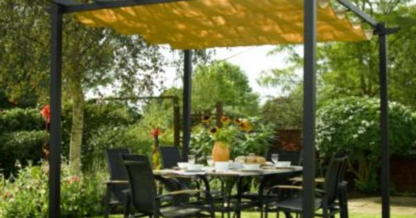 Diy An Outdoor Canopy Do It Yourself Pinterest