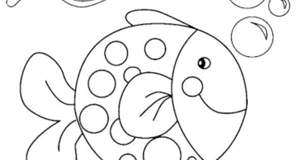 Dibujos Para Colorear Y Pintar Faciles Imagenes Tiernas Imagenes Gratis Pez Para Colorear Dibujos Para Pintar Faciles Dibujos Para Colorear Faciles