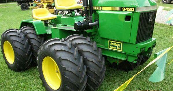 John Deere 420 Garden Tractor Have Any Info On This Articulated John Deere 420 Garden