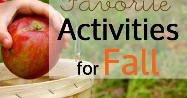 Must-Do Fall Activities! What are your favorite family fall traditions?