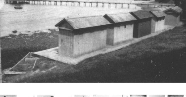 Nayatt point bath houses photographs from barrington for Rhode island bath house